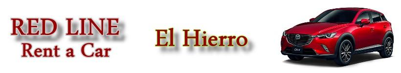 Car rental El Hierro Red Line Rent a Car El Hierro