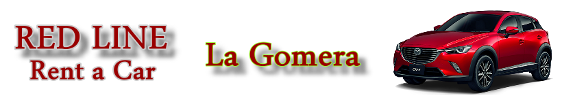 Autovermietung Red Line Rent a Car La Gomera. Mietwagen auf La Gomera.