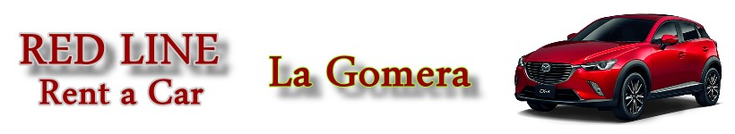 Car rental La Gomera. Red Line Rent a car La Gomera.