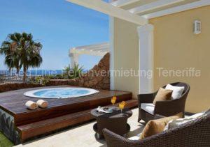 Luxus-Ferienhaus mit Jacuzzi im 5 Sterne Resort Hotel Villa Maria Suites